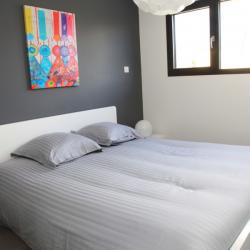 Adult bedroom with dressing